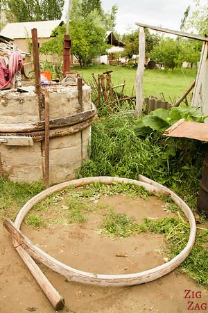 Making Kyrgyz yurt 4