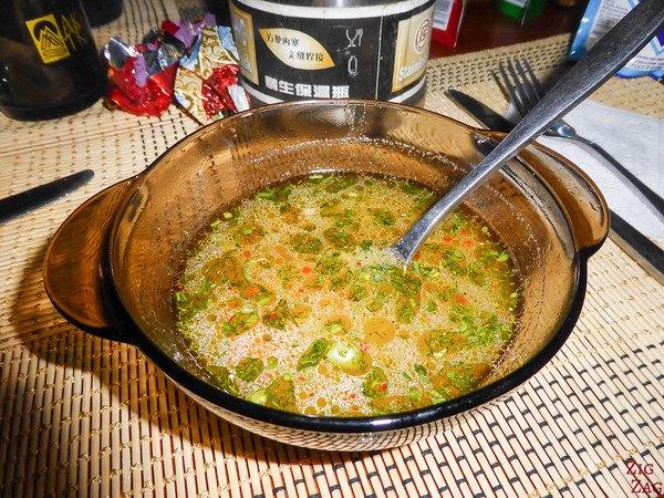 Kyrgyzstan food: soup 4