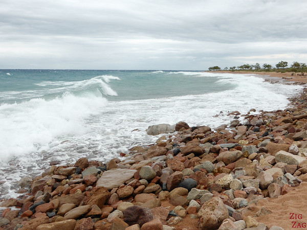 Big waves at Lake Issyk Kul, Kyrgyzstan 2