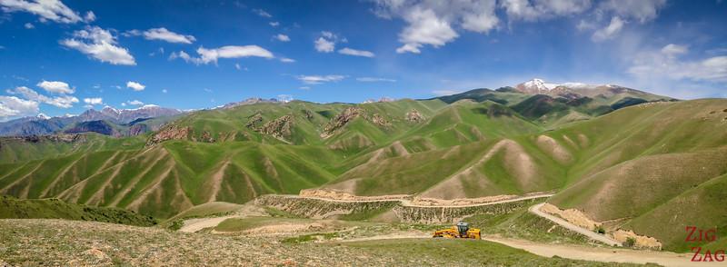 Kara Koo pass Kyrgyzstan 2