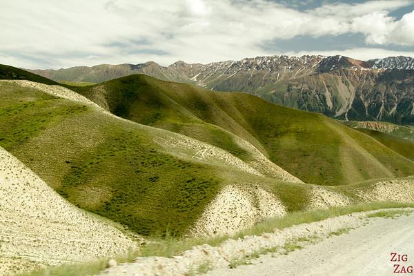 Kara Koo pass to Kazarman, Kyrgyzstan