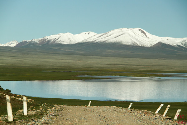 leaving  Song Kul lake, Kyrgyzstan 3