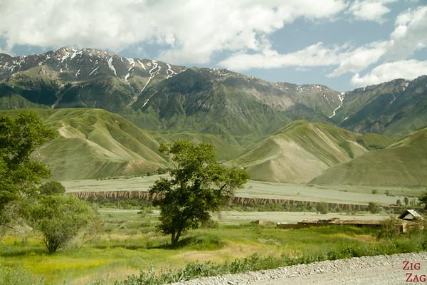 Kara Koo pass to Kazarman, Kyrgyzstan 6
