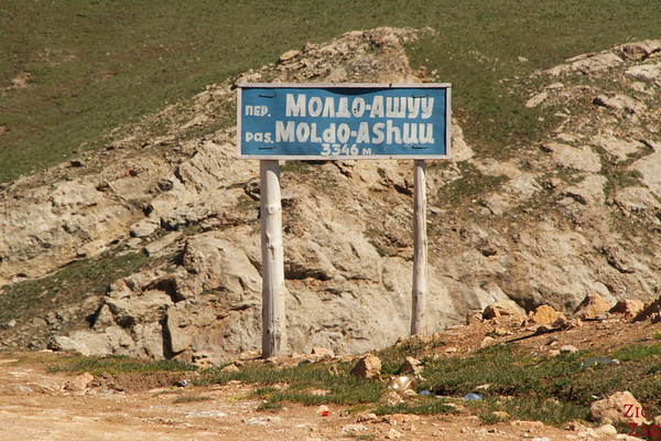 Moldo Ashu mountain pass, Kyrgyzstan
