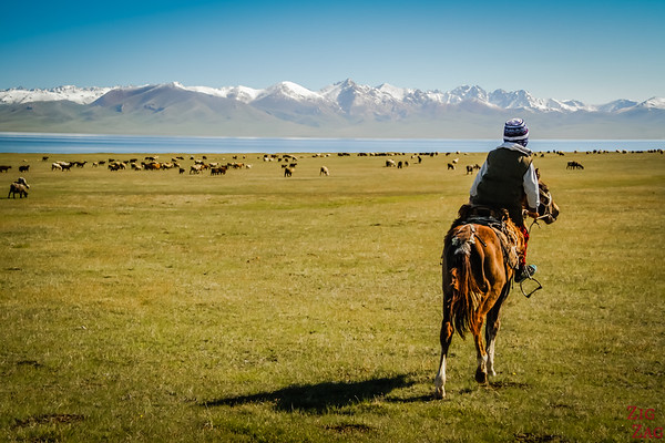 nomad herders at  Song Kul lake, Kyrgyzstan 4