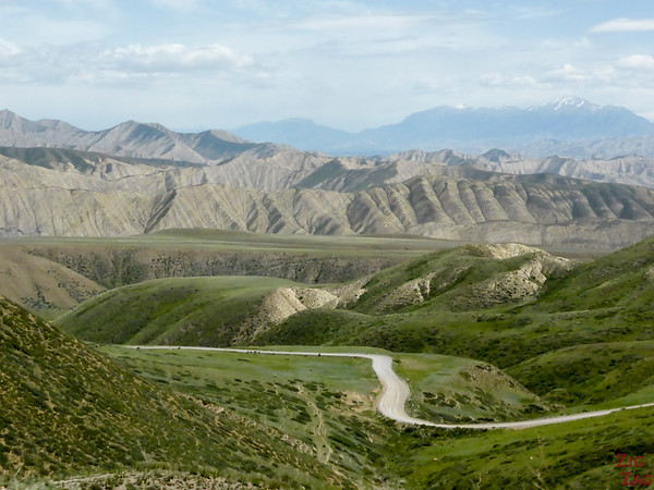 Road Song Kul to Kazarman, Kyrgyzstan 12