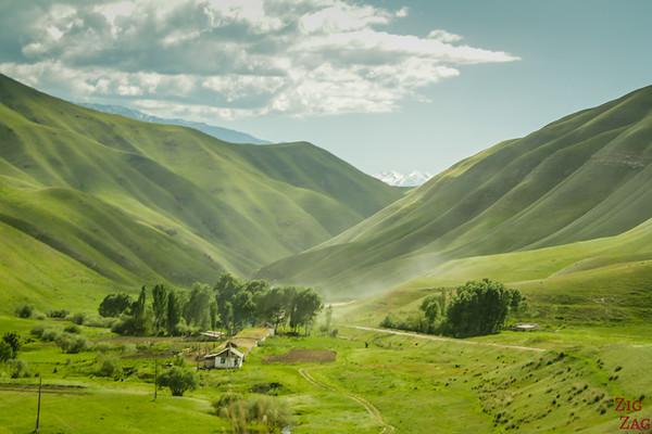 Kara Koo pass to Kazarman, Kyrgyzstan 5