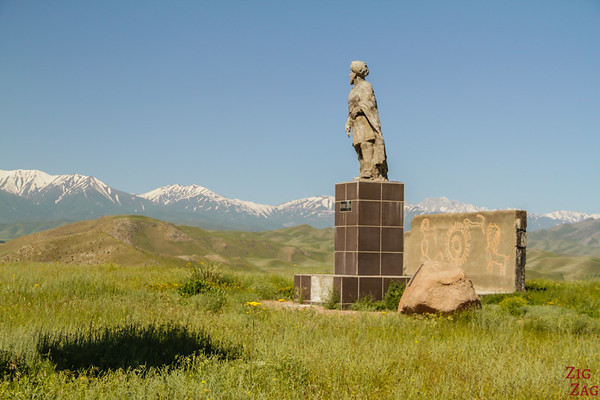 Around Kazarman, Kyrgyzstan
