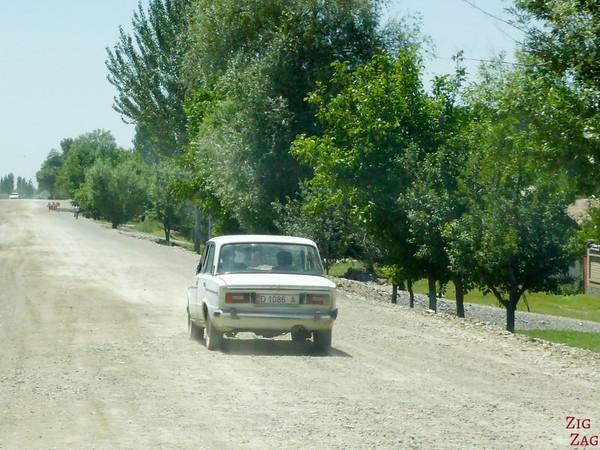 old lada car in Kyrgyzstan 6