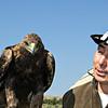 Eagleman with Golden Eagle