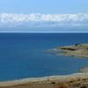 Issyk-Kul Lake with Mountains