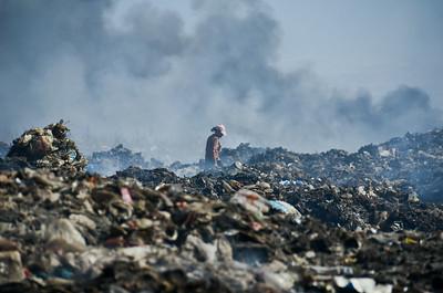 Bishkek's dump, Kyrgyzstan
