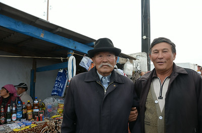 At the cattle market, Kyrguyzstan