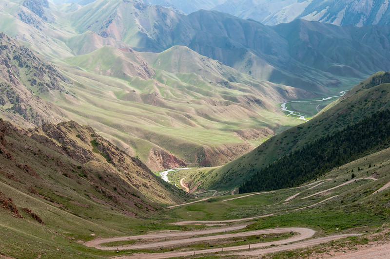 Song Kul southern approach
