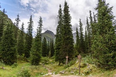 Alpine scene || Ala-Archa