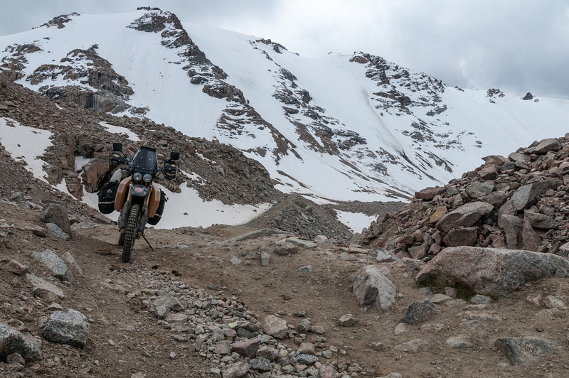 Tosor Pass. Naryn - Tosor (Issyk Kul) road