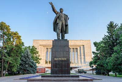 Lenin statue || Bishkek