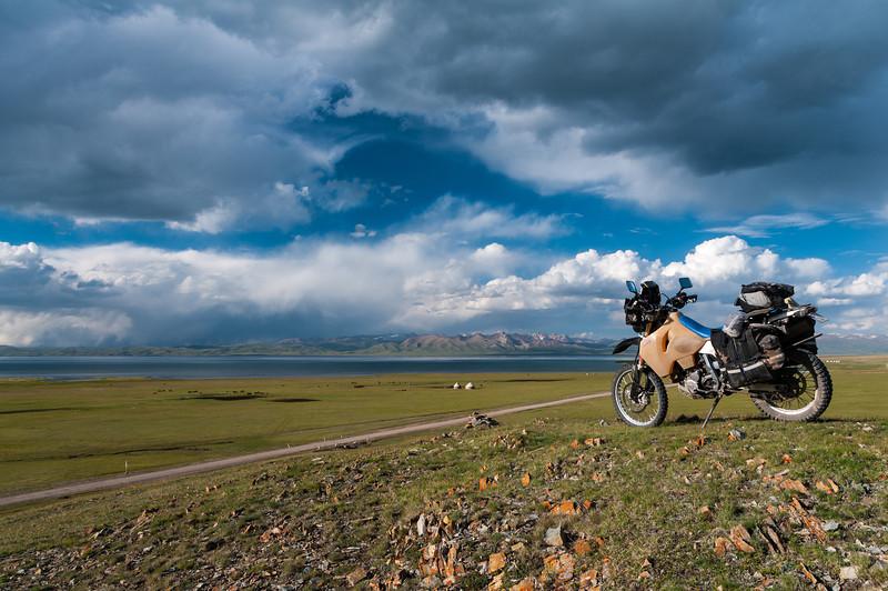 Song Kul (lake), Kyrgyzstan