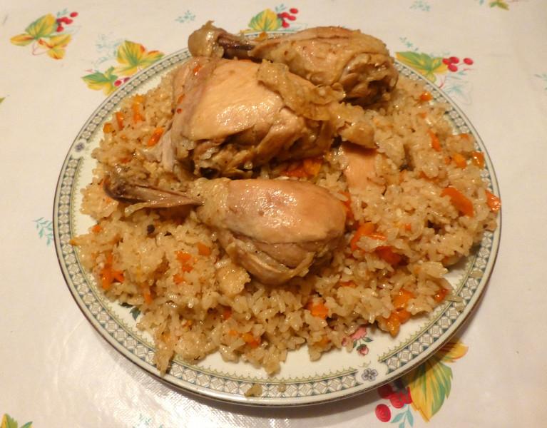 Chicken Pilaf made by Tamara