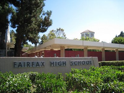 Fairfax High School - home of the Red Hot Chili Peppers!