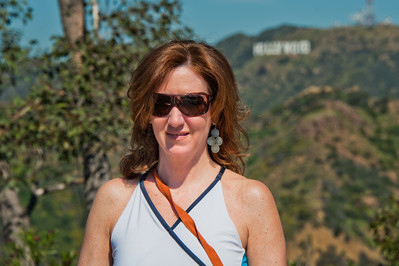 Linda in Griffith Park, Los Angeles