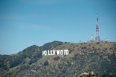 The Hollywood Sign from Griffith Park, Los Angeles