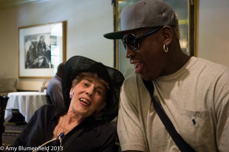 Aunt Carole & Dennis Rodman