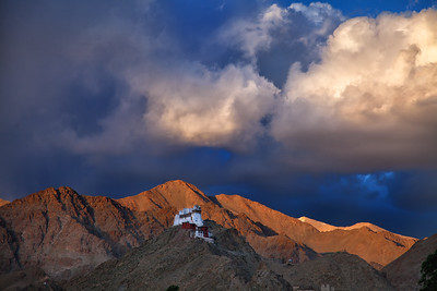 Tsemo Castle above Leh.