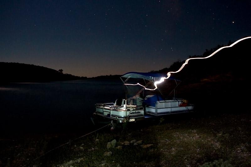 LIGHTING STRIKE ON THE BOAT?