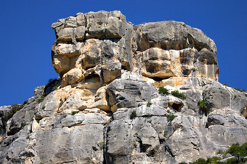 DEVIL'S RIVER VERSION OF MOUNT RUSHMORE