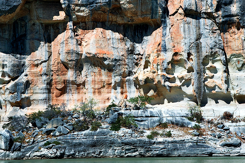 PECOS RIVER ROCK FORMATIONS