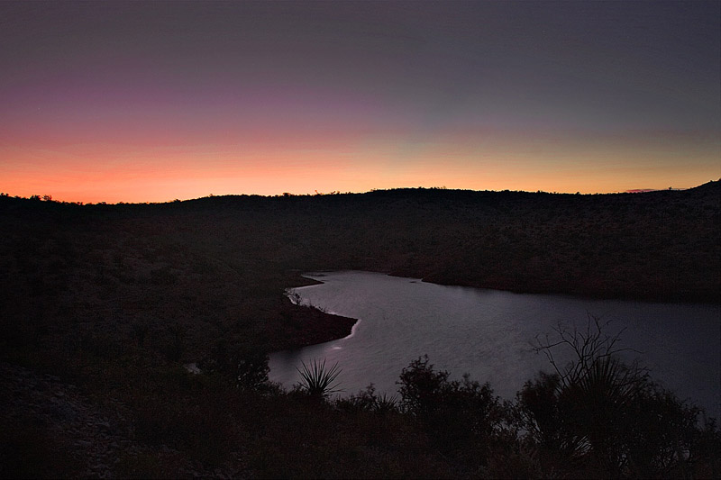 EARLY LIGHT ON LAKE AMISTAD