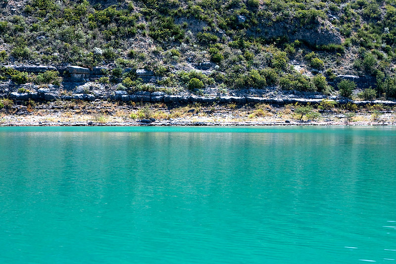 DEVIL'S RIVER TURQUOISE WATER