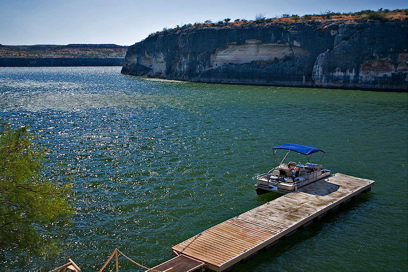 PANTHER CAVE BOAT DOCK-SEMINOLE CANYON