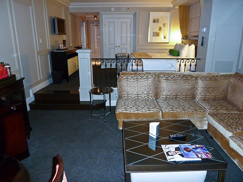 SUITE AT THE VENETIAN HOTEL