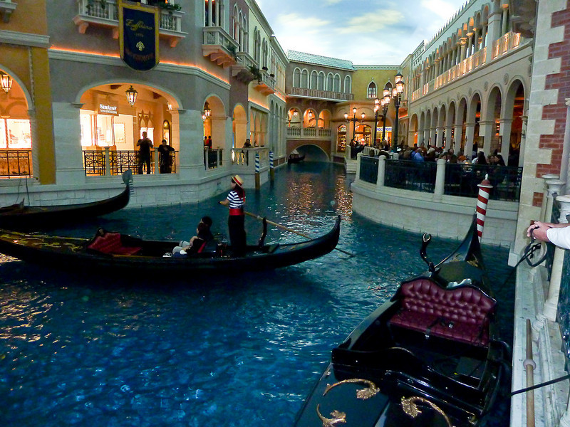 CANAL AT THE VENETIAN