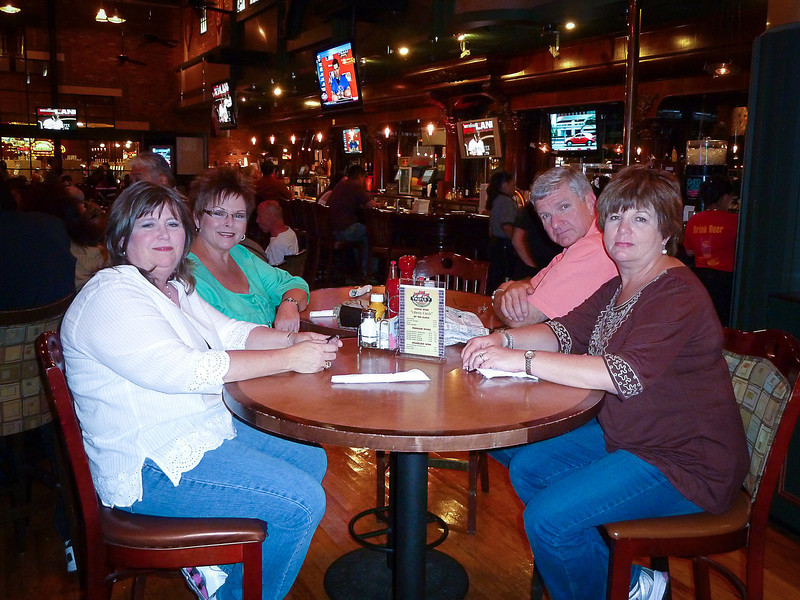 MATLOCK CREW DINING AT THE MAIN STREET CASINO BREWERY