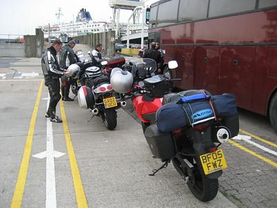 Ready for the P&O Sailing to Calais