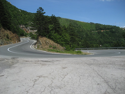I headed inland at Senj and found some incredible biking roads, i am going to the Plitvic Lakes