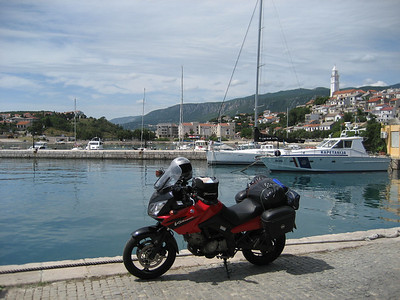 I am now on the Med or the Adriatic to be precise. Very hot here, Croatian coast