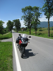 Slovenia is a lovely country with really good roads and beautiful scenery