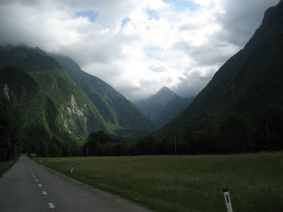 Now in Slovenia, this is one of my favorite pics of the whole trip, really moody & atmospheric picture