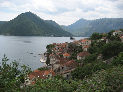 Kotor Inlet, Montenegro