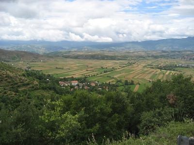 Albania is quite a mountainous country with intense farming in the valleys