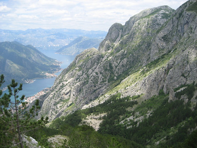 The truly magnificent Kotor Inlet, Montenegro