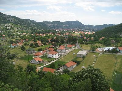 Cetinje in Montenegro, incredible road between Cetinje and Kotor