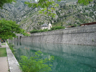 The walls of Kotor Old Town