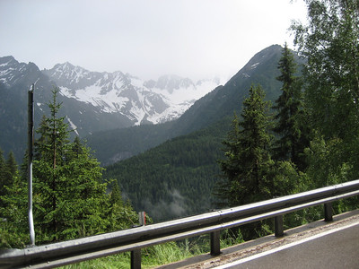there is a very high pass before you get to the Stelvio between Ponti Di Legno and Bormio the start of the Stelvio pass proper