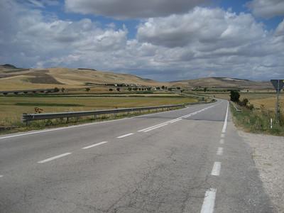 Heading across Southern Italy towards the Amalfi Coast