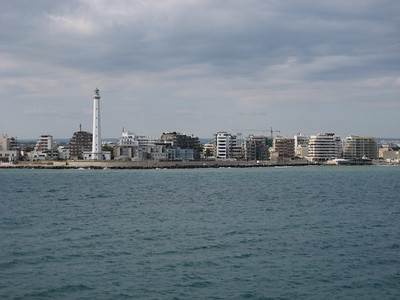 Bari Harbour in Southern Italy